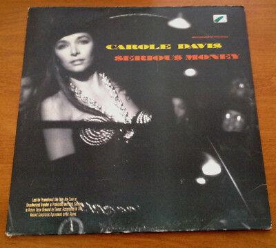 Carole Davis Serious Money 12 Inch Vinyl Record PROMO 1989 Warner Bros