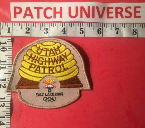 UTAH HIGHWAY PATROL SALT LAKE 2002 SHOULDER  PATCH  F031