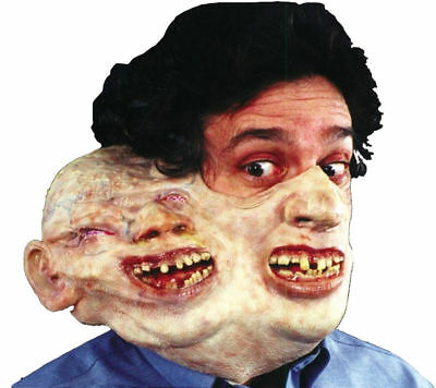 Morris Costumes New Horror Duphus Dan Latex Freaky Comfortable Faces Mask. TM133](Easy Half Face Halloween)