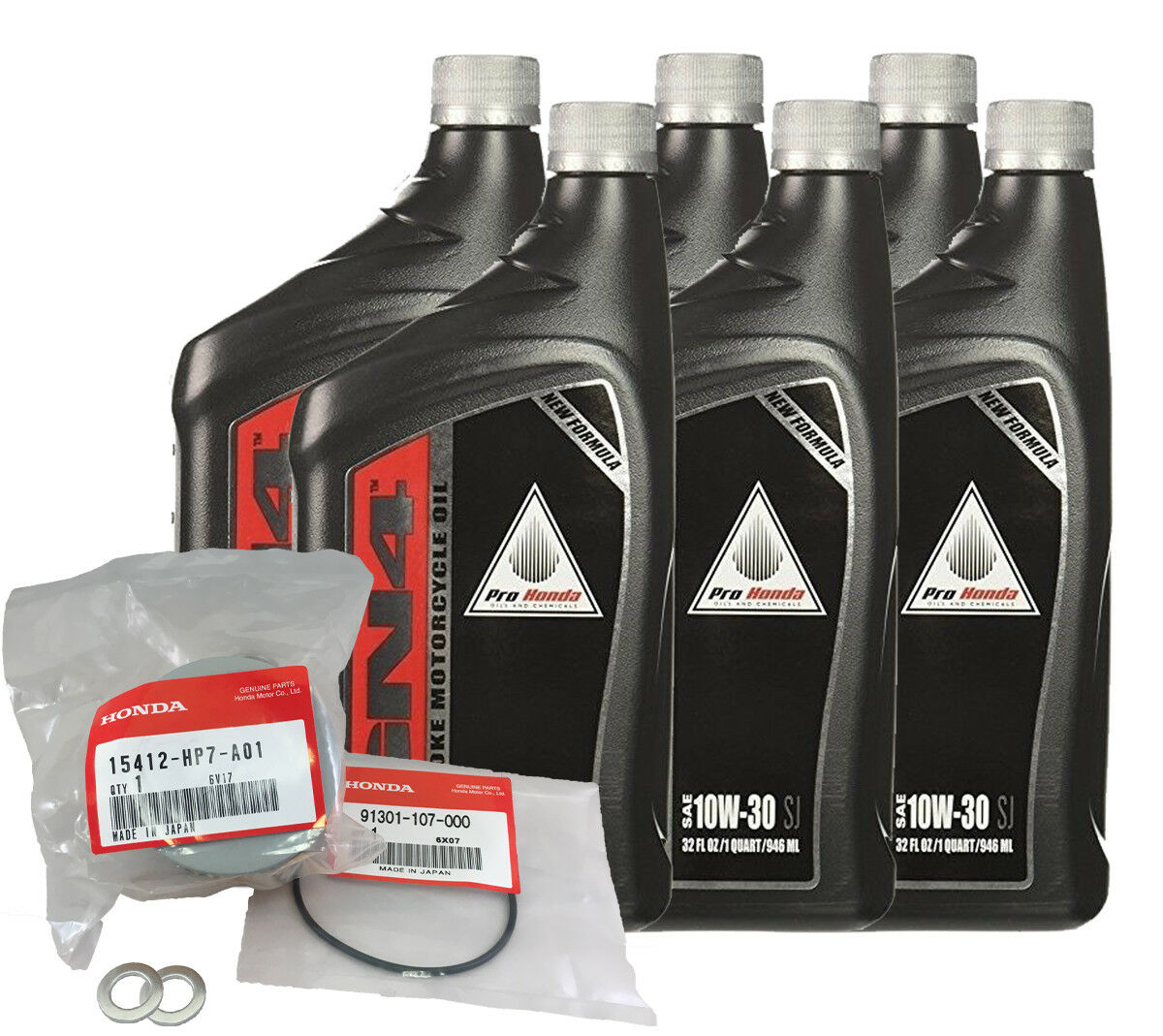 Honda Pioneer 1000 OEM Oil Change Service Kit