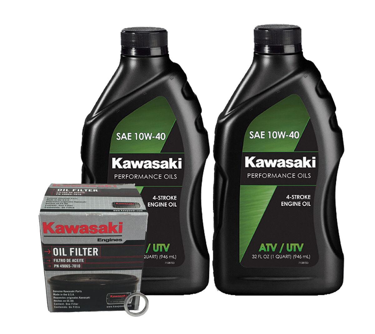 Kawasaki KAF 400 MULE 600/610/SX (05-18) Conventional Oil Change Kit