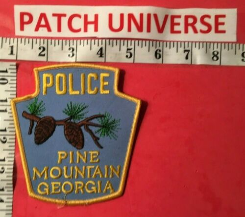 PINE MOUNTAIN GEORGIA  POLICE  SHOULDER PATCH  S096