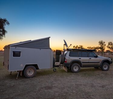 Off-road Custom Camper Trailer Sippy Downs Maroochydore Area Preview