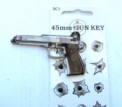45mm Gun House Key Blank,Fit for Schlage  lock  SC-1 keyway     FREE SHIPPING