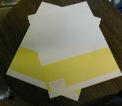 Blank Computer Security Check Paper Original Ird Classic Yellow 500 Sheets