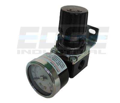 Air In Line Compressor Pressure Regulator Mini Series 14 Npt Gauge Included