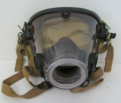 Scott Av-2000 Full Facepiece Respirator Scba Mask Size X-large 804019-03