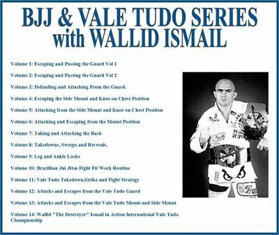 Brazilian Jiu-Jitsu & Vale Tudo Instructional Series (14) DVD Set bjj grappling