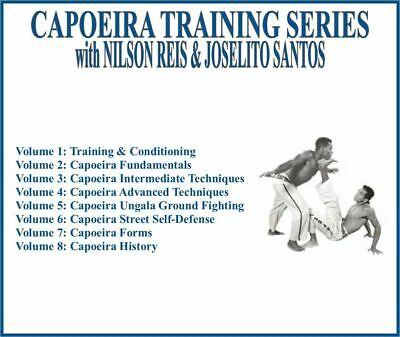 CAPOEIRA Instructional Series (8) DVD Set brazilian conditioning fundamentals