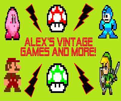 Alex's Vintage Games and MORE