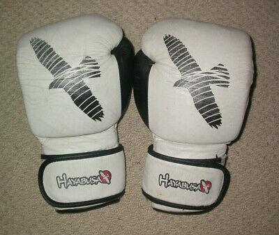 Usado, HAYABUSA BOXING GLOVES 16 oz , MUAY THAI KICK BOXING K1 KSW MMA UFC GYM SPARRING segunda mano  Embacar hacia Mexico