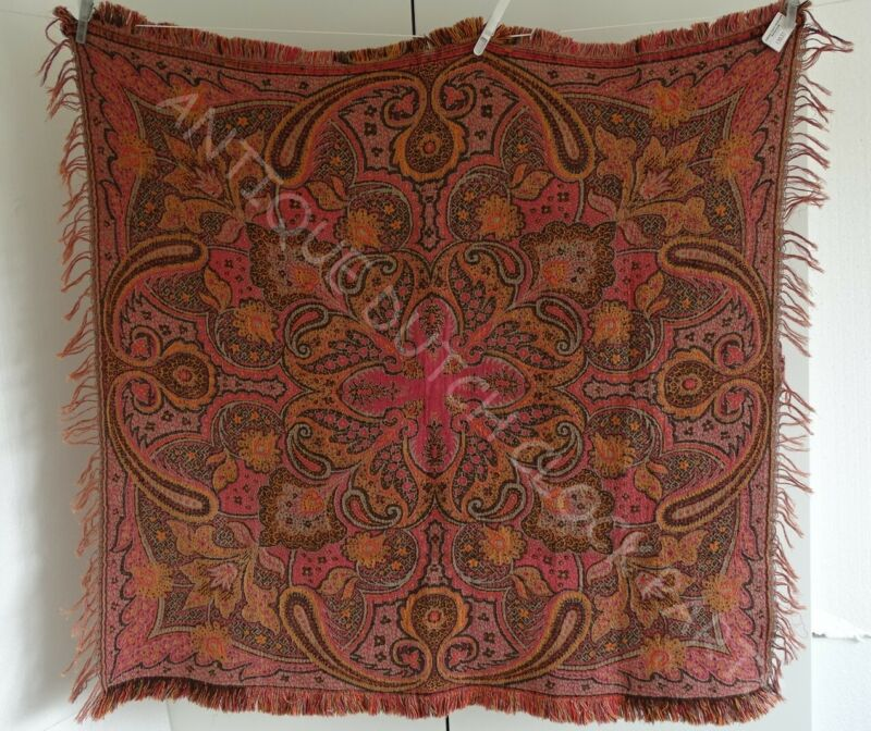 FOLKLORE NETHERLANDS WORTELDOEK OR PAISLEY SHAWL