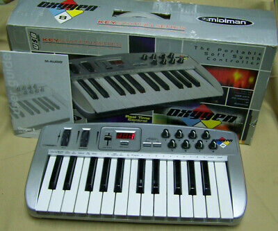Midiman Oxygen 8 Midi Keyboard for sale  Shipping to India