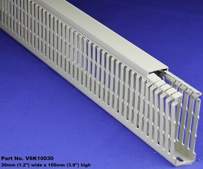 25 Sets-1x4x2m Gray High Density Premium Wiring Ducts And Covers - Ulcecsa