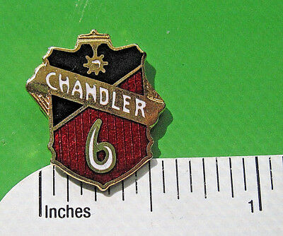 CHANDLER 6  MOTOR CAR CO - hat pin , lapel pin, tie tac, hatpin. badge GIFT BOXD