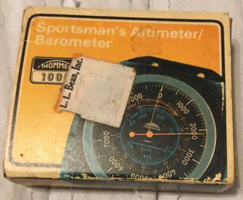 Thommen Altimeter/Barometer 15000 Ft. L.L. Bean