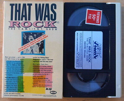 That Was Rock  T.A.M.I/T.N.T. Show Rolling Stones Bo Diddley R.Charles Beta