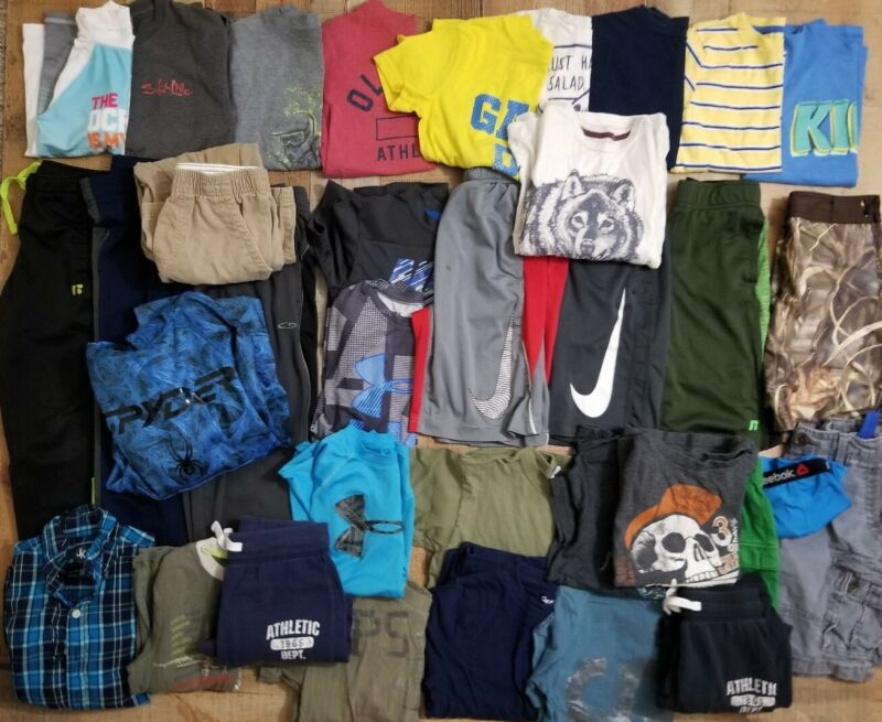 Huge Boys 6/7 Lot Fall Summer Name Brands Mixed 34 pieces