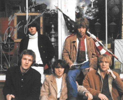 * PETER LEWIS * signed 8x10 photo * MOBY GRAPE * COA * 3