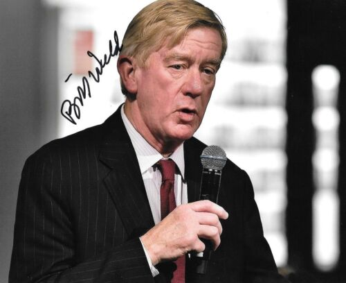 * BILL WELD * signed autographed 8x10 photo * GOVERNOR OF MASSACHUSETTS * COA 1