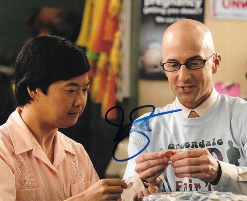 * JIM RASH * signed autographed 8x10 photo * COMMUNITY * COA * 1