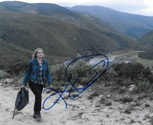 * KIM DICKENS * signed autographed 8x10 photo * FEAR THE WALKING DEAD * 7