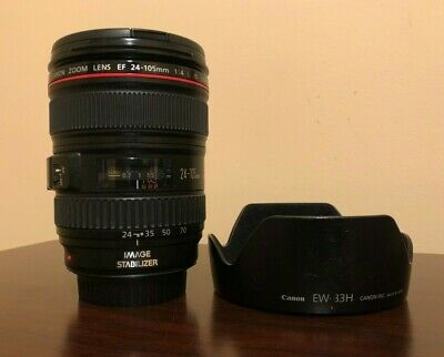Used Canon EF 24-105mm f/4L IS USM Lens #667