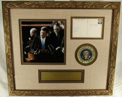 John F. Kennedy 35th President United States Autograph PSA/DNA Authenticated