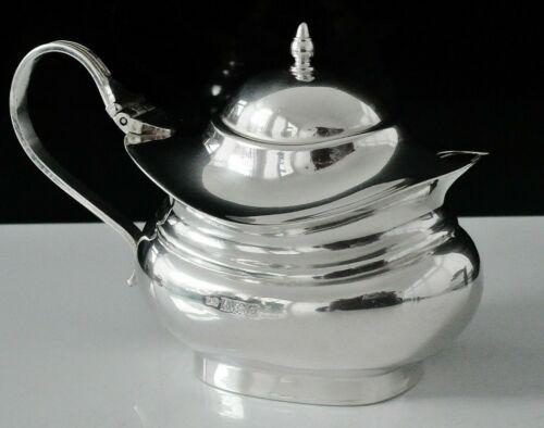 Sterling Silver Mustard Pot, Hampton Utilities, Birmingham 1963
