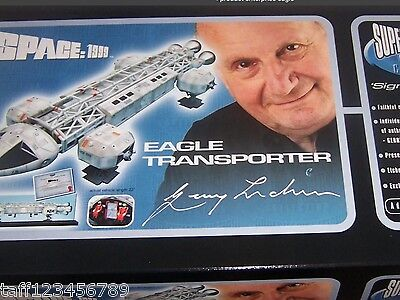 """PRODUCT ENTERPRISE 23"""" EAGLE SPACE 1999 TRANSPORTER MADE ONLY 1300 NEW"""