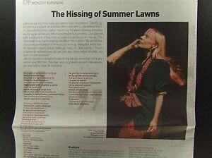 MAREK NIEDZWIECKI on FRONT cover 2007 Joni Mitchell The Hissing of Summer Lawns - europe, Polska - Zwroty są przyjmowane - europe, Polska