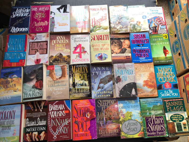 Women's Fiction Paperback Book Lot 1