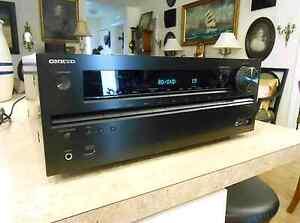Onkyo AV Receiver 4K TX-NR515AE WRAT HDMI Dobly 7.2 Channel QDEO Rooty Hill Blacktown Area Preview