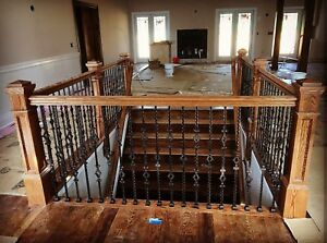 3 Ways to re-finish the look or your stairs & railing 6477874692