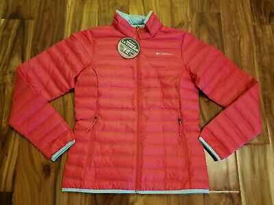 Pink Ladies Jackets Cheap (NEW Women's COLUMBIA Pink Flash Forward Quilted Down Jacket Coat Size Medium)