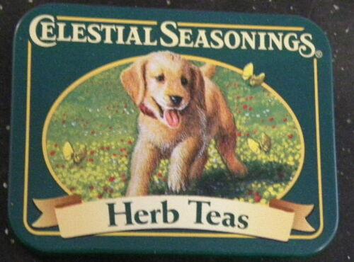 Labrador Puppy Dog Celestial Seasonings Tea Mini Tin  Herb Teas