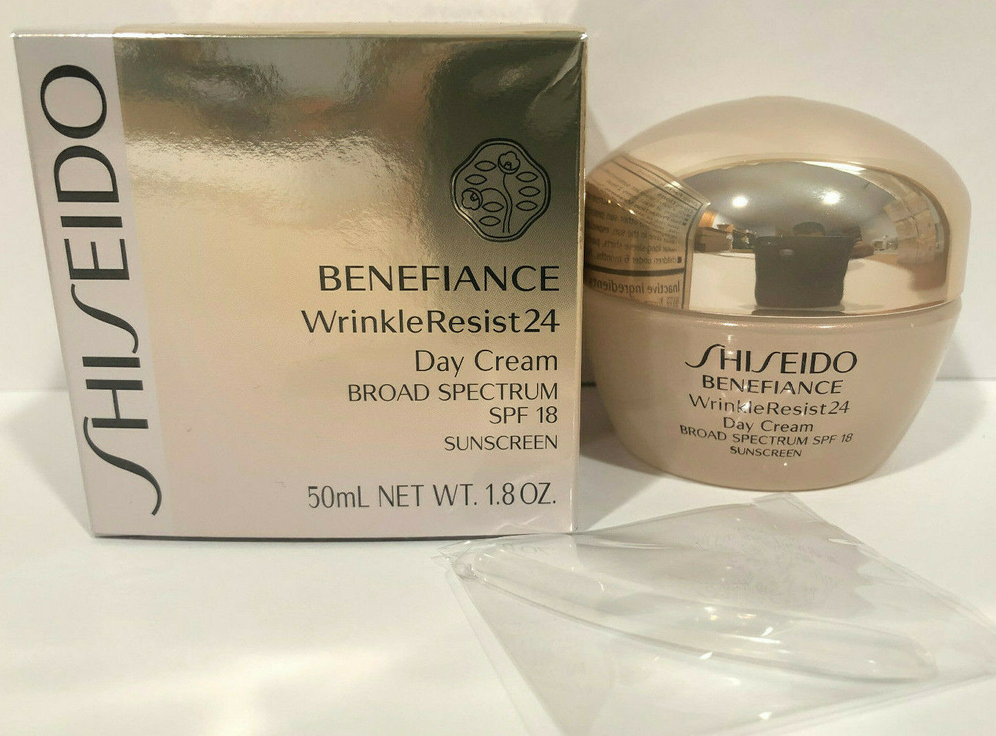 Shiseido SPF 18 Benefiance Wrinkle-Resist 24 Day Cream for U