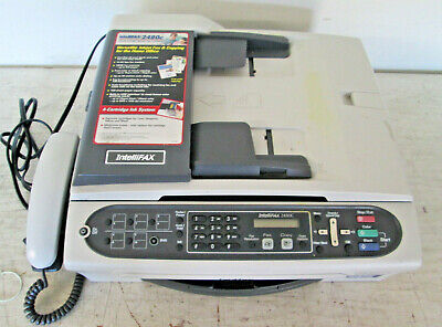 Brother IntelliFAX 2480C Color Ink-jet - Fax / Copier EUC WORKS GREAT Brother Color Inkjet Fax Machines