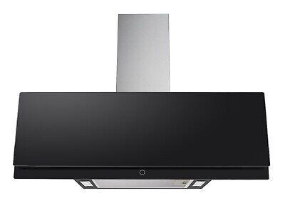 PKM Campana A+ Cristal Negro Campana de Diseño LED 90cm Control Táctil...