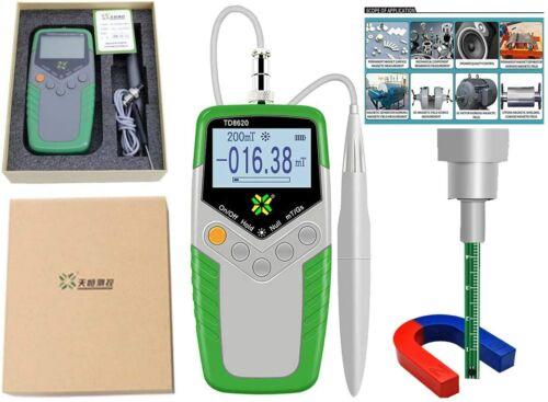 VTSYIQI Surface Magnetic Field Tester Digital Tesla Meter Gaussmeter 5 Accuracy