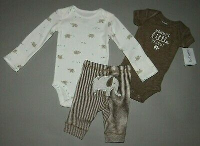 NWT, Baby boy clothes, Newborn, Carter's 3 piece set/ SEE DETAILS ON FLAPS~~