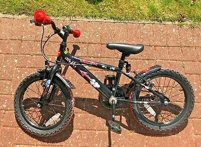 Apollo Urchin 12 Inch Boys Bike With Stabilisers 3-5 Years  GLASGOW PICKUP only