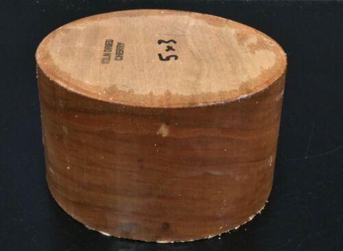 5x3 Kiln Dried Cherry Wood Turning Lathe Bowl Blank Block (BULK)