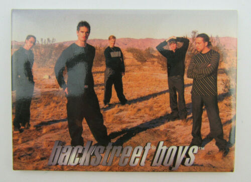 Vintage 1998 BACKSTREET BOYS Pocket Mirror 3.5 x 2.5 Inches Winterland
