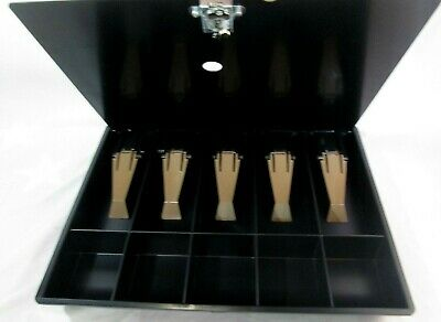 New Ncr Cashier Box Money Tray With Locking Lid Just Tray And Lid