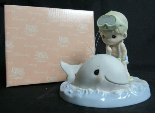 """Precious Moments 108595 """"Stay With Me A-Whale"""" MIB WP76"""