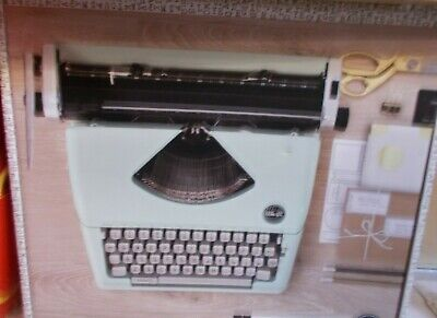 Brand New We R Memory Keepers Typecast Typewriter Mint Color