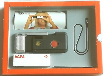 AGFA mini Pocket-Kamera mit Sensor-Auslösung Blitzleiste unbenutzte Altware OVP