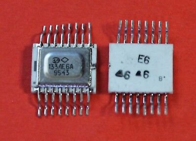 133le6a Sn54128 Ic Microchip Ussr Lot Of 2 Pcs