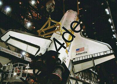 SPACE SHUTTLE ATLANTIS Photo 5x7 NASA Space Mission Memorabilia